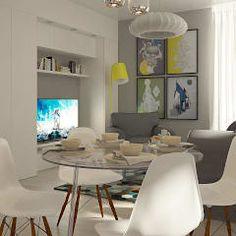 Salones de estilo escandinavo de CO:interior