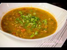 Sopa de lentejas con tocino - Receta fácil de preparar