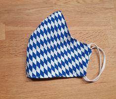 Maske Bayern - in Kinder oder Erwachsenengrößen Pot Holders, Etsy, Protective Mask, Bavaria, Handmade, Schmuck, Weird, Game, Cotton