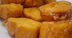 Fatias do Bispo Y Food, Good Food, Food And Drink, Portuguese Desserts, Portuguese Recipes, Chocolate Caramel Tart, Sweet Potato Dessert, Spanish Dishes, Christmas Desserts