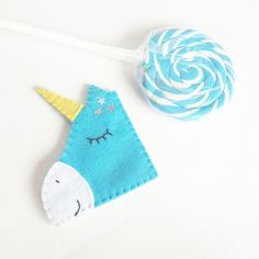 Unicorn felt corner bookmark  #unicorn #fantasy #fairy #unicorns #segnalibro…