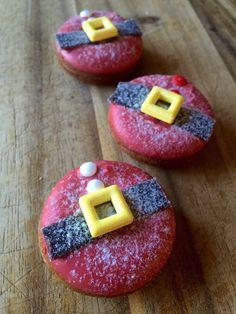 Santa mini donuts by GreenMntMiniBaked on Etsy