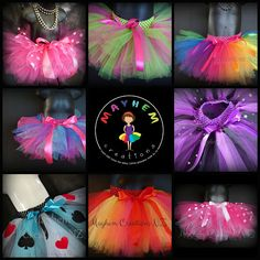 Mayhem Creations NZ - custom made hand tied tutus made by me here in Auckland. I love making your designs into tutus so let me help create your perfect birthday outfit or costume. Does she want to be a ballerina or a fairy? We can help First Birthday Outfits, Girl Birthday, Birthday Gifts, Color Combinations, Your Design, First Birthdays, Create Yourself, Flower Girls, Auckland
