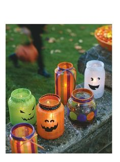 Trick-or-treat Lanters