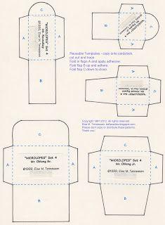 Else's Bellas Artes: FREE Mini Envelope Templates for You :)