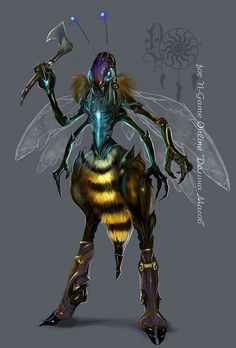 the Hornet-worker by LadyOwl on DeviantArt