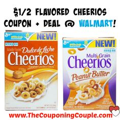 $1/2 Flavored Cheerios Coupon + Deal @ Walmart!  Click the link below to get all of the details ► http://www.thecouponingcouple.com/12-flavored-cheerios-coupon-deal-walmart/ #Coupons #Couponing #CouponCommunity  Visit us at http://www.thecouponingcouple.com for more great posts!