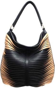 Sondra Roberts Large Twisted Nappa Hobo on shopstyle.com