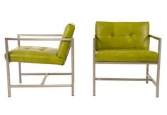 Take a look at the sleek and airy frame on George!