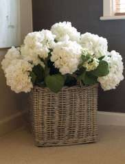 so pretty!  Placed on top of a stool...or maybe at the end of the bed.