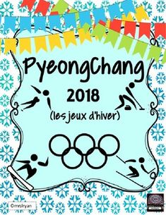 "FRENCH BUNDLE: It's time for the Winter Olympics! My Olympic bundle includes two products. This first includes a ""sports matching game"" highlighting the sports of the winter games. Also included are sports posters to use to decorate your classroom! The second product has a variety of activities including ""le compte de médailles"", ""Je me demande..."" activity, and ""Mon athlète"" activity, des signets, mots cachés, and also an internet search activity"