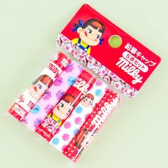 Milky Peko-Chan Pencil Cap Set