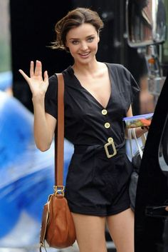 Love this romper.  Miranda Kerr is so beautiful.