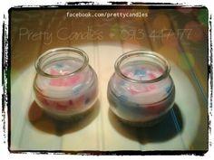 Scented candles # rose # romance # handmade # Hanoi