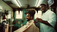 This is such a cool commercial! Let your favorite barber or hair stylist know we offer insurance for Barber Shops & Salons! AM/PM Insurance Agency, Inc. ampm-insurance.com  (323)277-2850