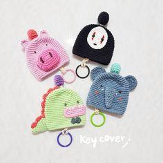 All instock Keycover item Dm if interest #keycover #keyholder#amigurumi#crochetforsale #crochet#crocheting #handmade#craft#crafting#yarn#yarnlove #product#cute#gift