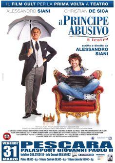 Il Principe Abusivo il 31 marzo a Pescara con Alessandro Siani e Christian De Sica