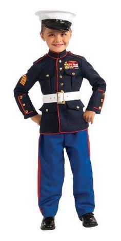 Young Heroes Marine Dress Blues Costume, Medium Rubie's Costume Co. $39.99