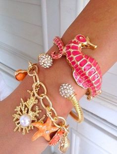 Exciting arm candy.