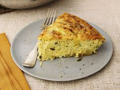 "The Barefoot Contessa says, ""Frittatas are so much easier than making individual omelets because you can prepare the egg mixture a few hours ahead of time. Before guests arrive, all you have to do is saute the potatoes, then pour on the eggs and bake. A great lunch for everyone and no stress for the hostess!"""