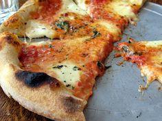 Quattro Formaggio Pizza at Delfina Pizzeria
