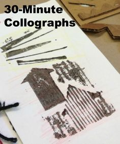 Collograph Project: Add a social issue to it?
