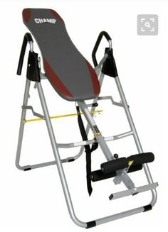 Inversion Therapy Table Back Relief Gravity Pain Chiropractic Hang Fold