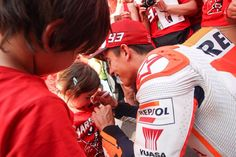Marc with a little girl, Catalunya.