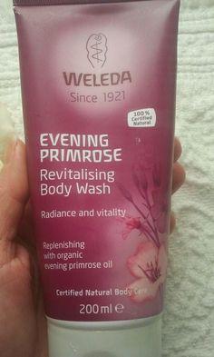 Rewitalizujący żel pod prysznic z wiesiołkiem Evening Primrose, Body Wash, Cosmetics, Bottle, Shower Gel, Flask, Jars