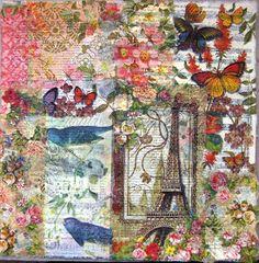 Scraps of my Life: Paper Napkins Collage