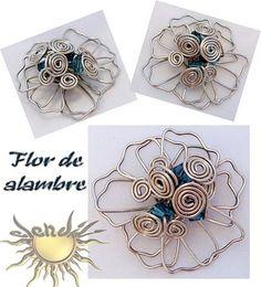 Flor de alambre