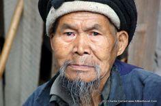 Un vieux Miao - Chine