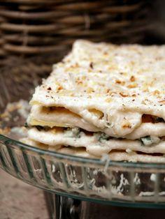 Lasagnes au Bleu, chou-fleur et noix : Recette de Lasagnes au Bleu, chou-fleur et noix - Marmiton