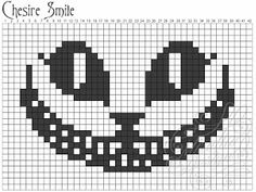 Ravelry: Chesire cat pattern by mirella design Cross Stitch Charts, Cross Stitch Designs, Cross Stitch Patterns, Pixel Pattern, Cat Pattern, Free Pattern, Crochet Cross, Crochet Chart, Knitting Charts