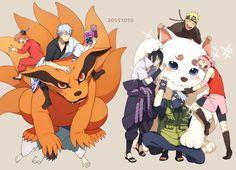 「もふっっ」/「ミン」のイラスト [pixiv] Naruto - Gintama