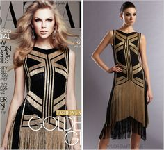 Gucci 'Silk Fringe Dress' - no longer available