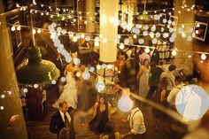 Wedding Venue: The Housing Works Bookstore