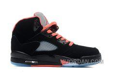 7159d2c51c3fb0 440892-001 Air Jordan 5 GS Black Alarming Red Q5sKN