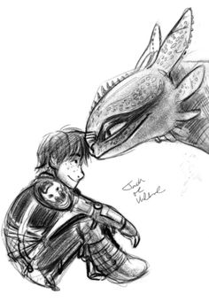 Might be able to do this one. But I would change the way Toothless is drawn. He looks too old...sorry whoever drew this its still amazing and really good I just would change it for my personal preference