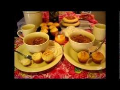 Pinto Beans and Cornbread Muffins / soul food recipes - YouTube