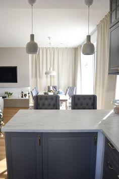 Kitchen Island, House, Home Decor, Haus, Interior Design, Home Interiors, Homes, Decoration Home, Island Kitchen