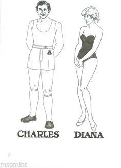 Princess-Diana-ROYAL-TOUR-AUSTRALIA-CANADA-WILLIAM-BIRTH-PAPER-DOLLS-RARE