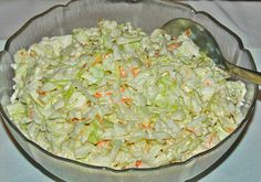 KFC Coleslaw is a five minute side dish you'll enjoy all summer long with your favorite chicken and more! Tastes exactly like the original! KFC Coleslaw is one of my most personal childhood food memories. Side Recipes, Great Recipes, Simply Recipes, Easy Recipes, Kfc Coleslaw, Good Food, Yummy Food, Restaurant Recipes, Copycat Recipes