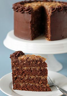 The Galley Gourmet: German Chocolate Cake recipe