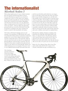 BREAKING NEWS! Silverback' SCALERA 3 appears in the American (USA) magazine Peleton! #Silverback @Silverback_Tech #Peleton #Cycling #Scalera