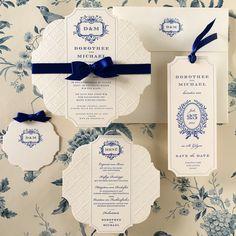 #letterpress #design #luxury Save The Date, Wedding Stationery, Wedding Invitations, Happy Weekend, Paper Goods, Letterpress, Wedding Inspiration, Place Card Holders, Elegant