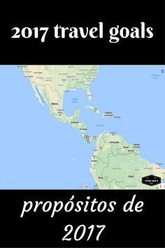 Travel goals for 2017 from @idowhatiwanto Nuestros propósitos viajeros para 2017