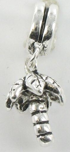Quiges - Kraal Bedel Zilver - Palmboom - Z598