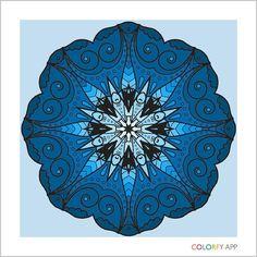 rhapsody in blue #colorfy