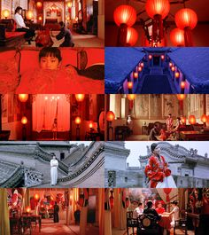 Raise the Red Lantern. Directed by Zhang Yimou, Cinematography by Zhao Fei